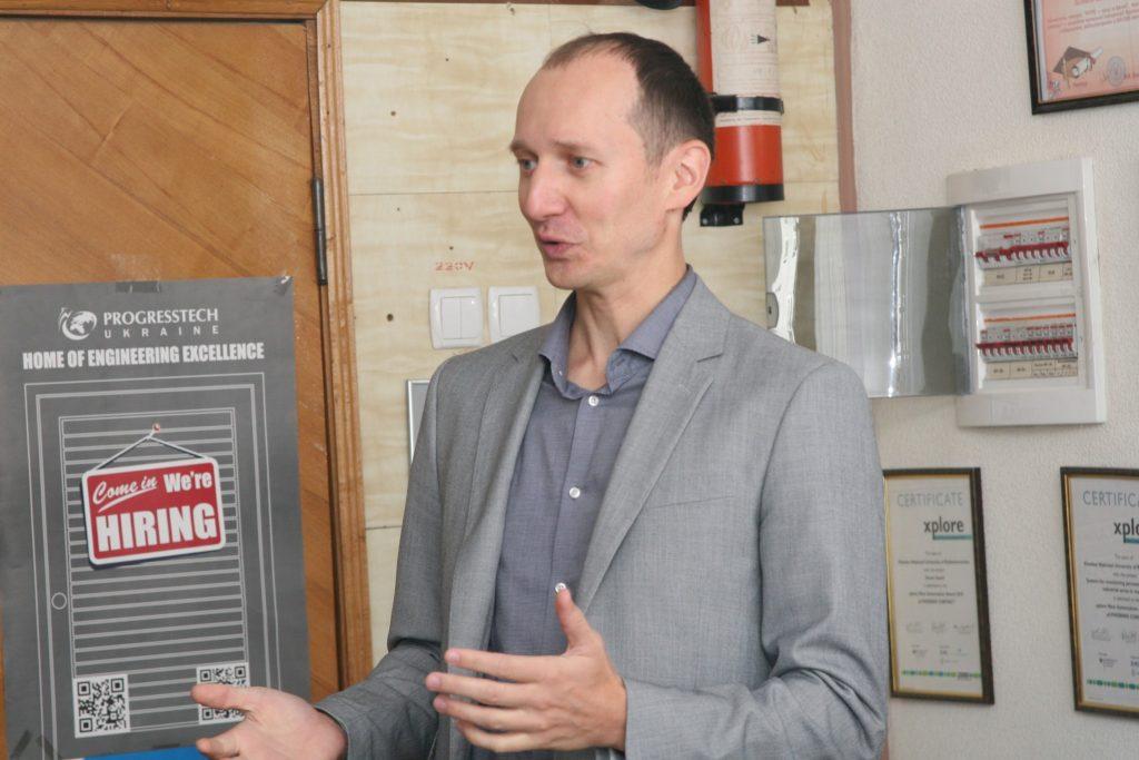 GlobalLogic Ukraine рассказали студентам ХНУРЭ о системах Embedded