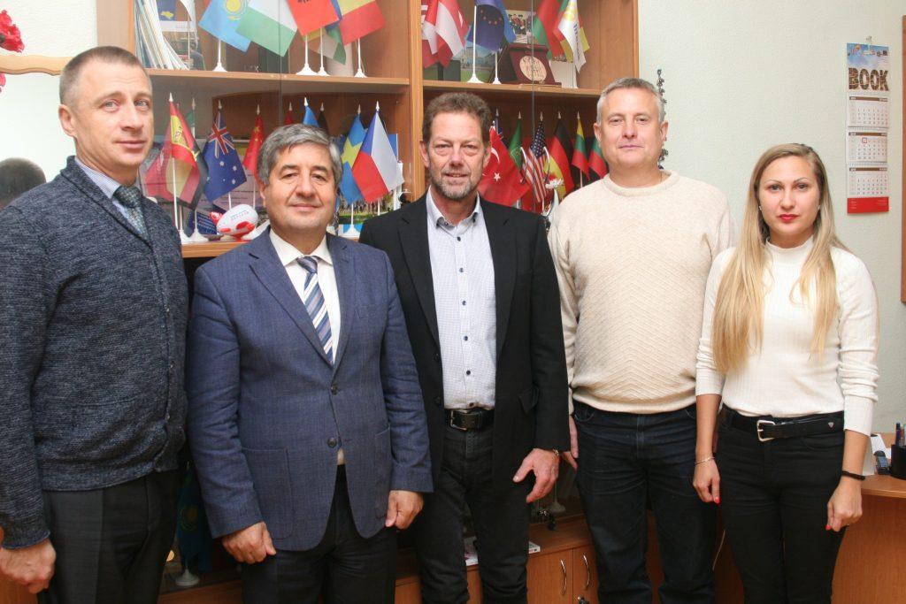 В ХНУРЭ прошла встреча с представителем шведского технологического университета