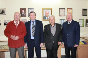 An exhibition dedicated to the 55th anniversary of the Department of MEIRES was opened in NURE