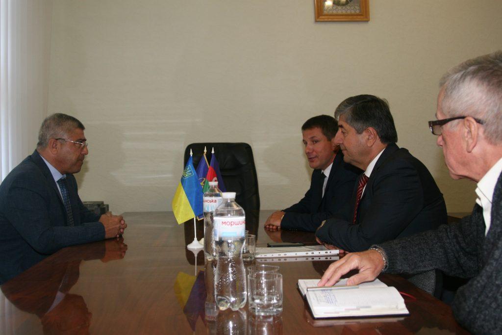 ХНУРЭ посетили представители Азербайджанской Академии МЧС