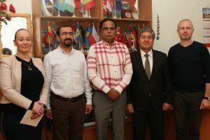 В ХНУРЭ прошла встреча с Международной компанией «Educare International Ltd»