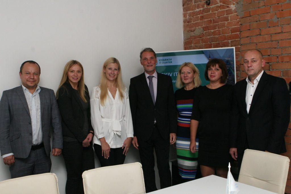 ХНУРЭ и IT-Cluster обсудили с немецкими чиновниками возможности для совместных проектов