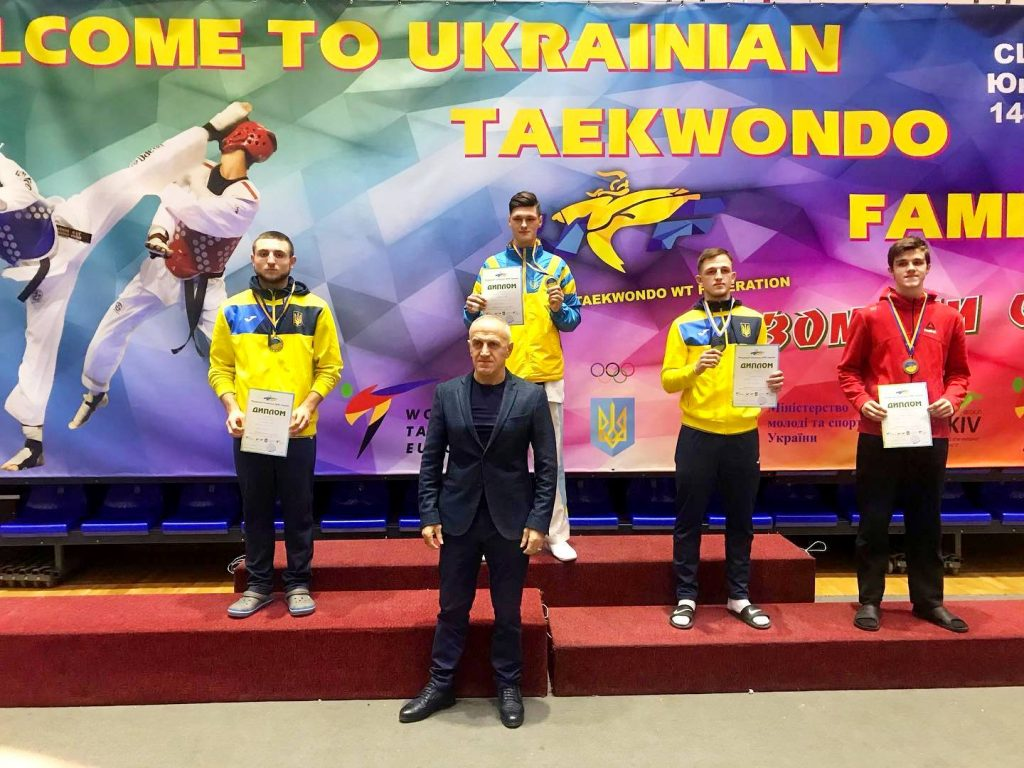 Студент ХНУРЭ вошел в тройку лидеров на чемпионате Украины по тхэквондо