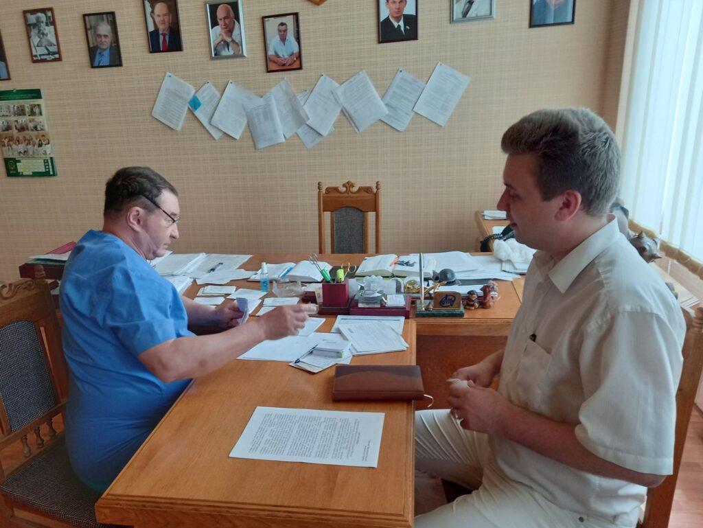 ХНУРЭ продолжает сотрудничество с институтом медицинской радиологии и онкологии