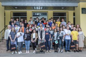 The week of summer intensives from NURE for the best schoolchildren of the region is over