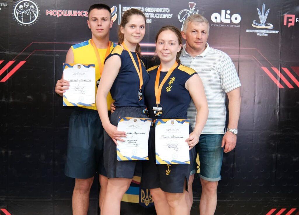 Студенты ХНУРЭ стали победителями чемпионата Украины по хортингу