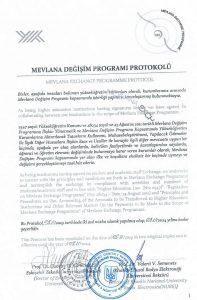 Обменная программа МЕВЛАНА (ТУРЦИЯ)