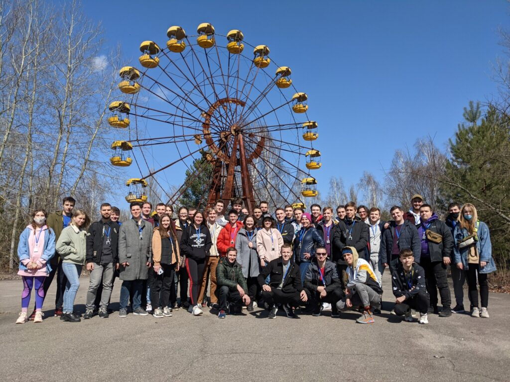 NURE students visited Chernobyl
