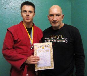 Самбисты ХНУРЭ завоевали золотые награды областного турнира