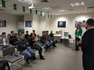 NURE students visited the Schneider Electric office in Ukraine