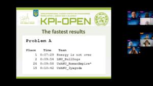 Студенты ХНУРЭ стали победителями олимпиады KPI-OPEN 2021