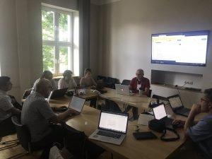 Професор ХНУРЕ взяла участь у робочій зустрічі COST Action CA15110 CHARME, Horizon 2020