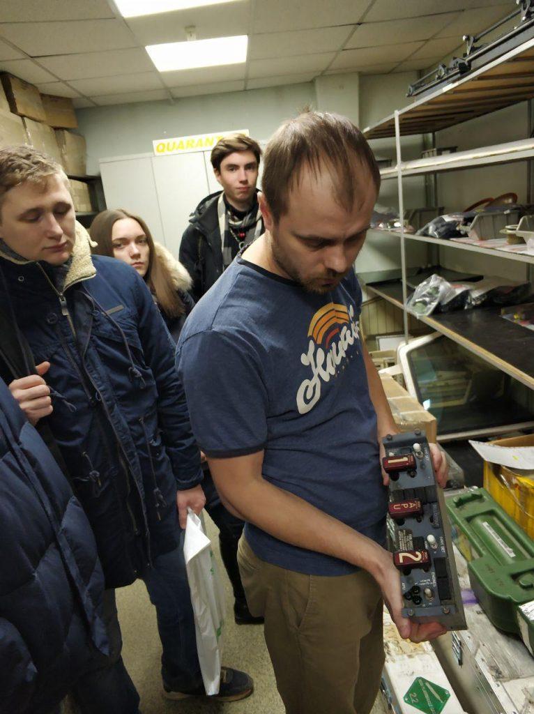 Студенти ХНУРЕ ознайомились з роботою компанії «УкрЕЙР»