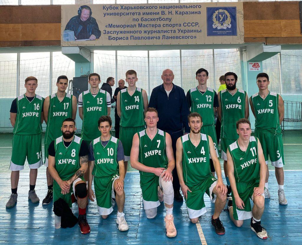ХНУРЕ – среди призеров турнира по баскетболу