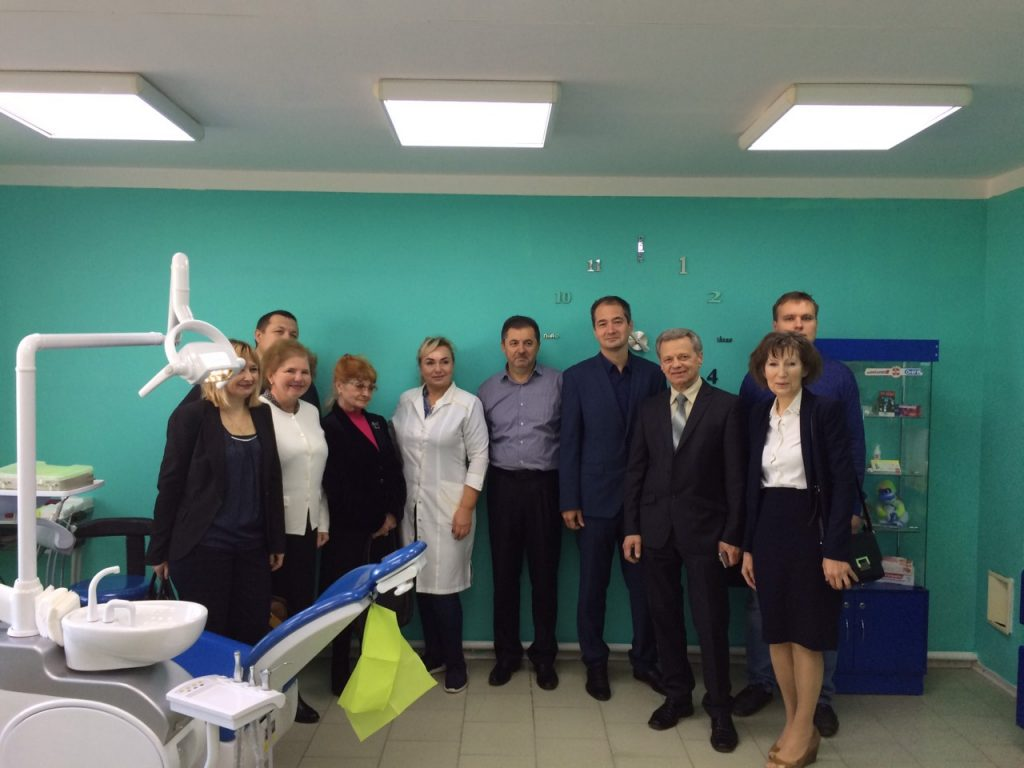 Scientists of the Department of BME visited the University dental center of KHNMU