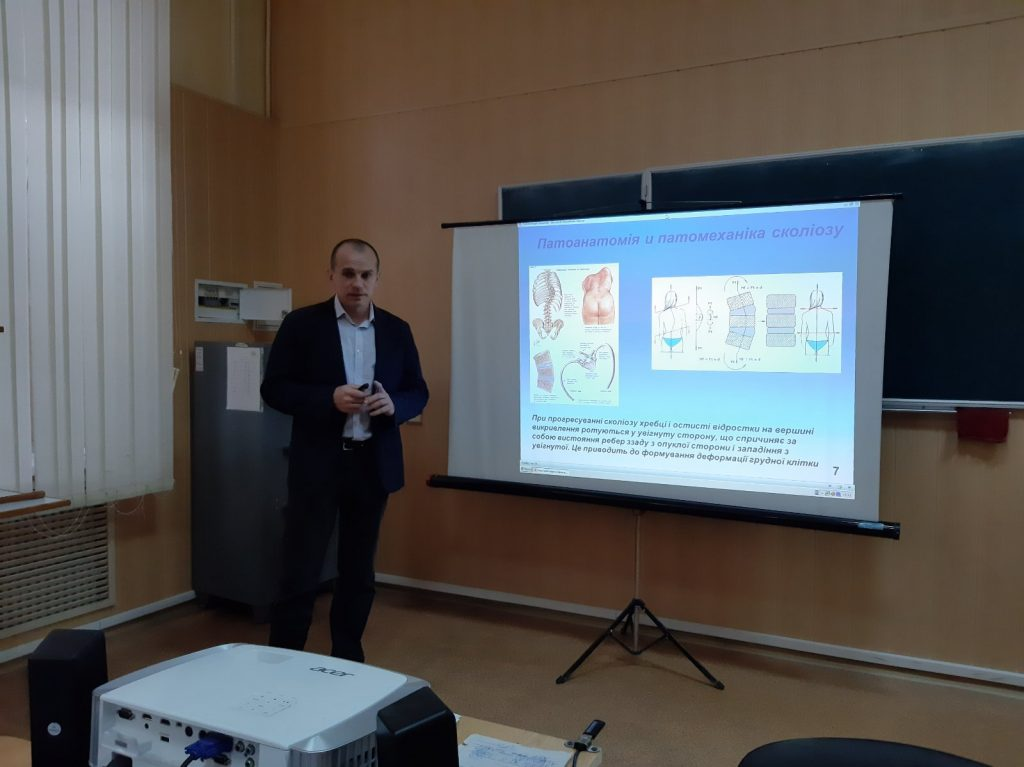 At the BME Department of the Kharkiv National University of Radio Electronics the defense of master's works