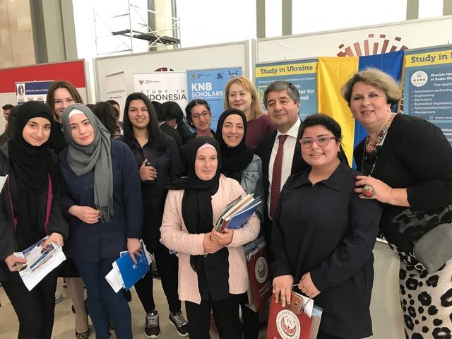 ХНУРЕ в Лівані презентував можливості освіти для іноземних студентів