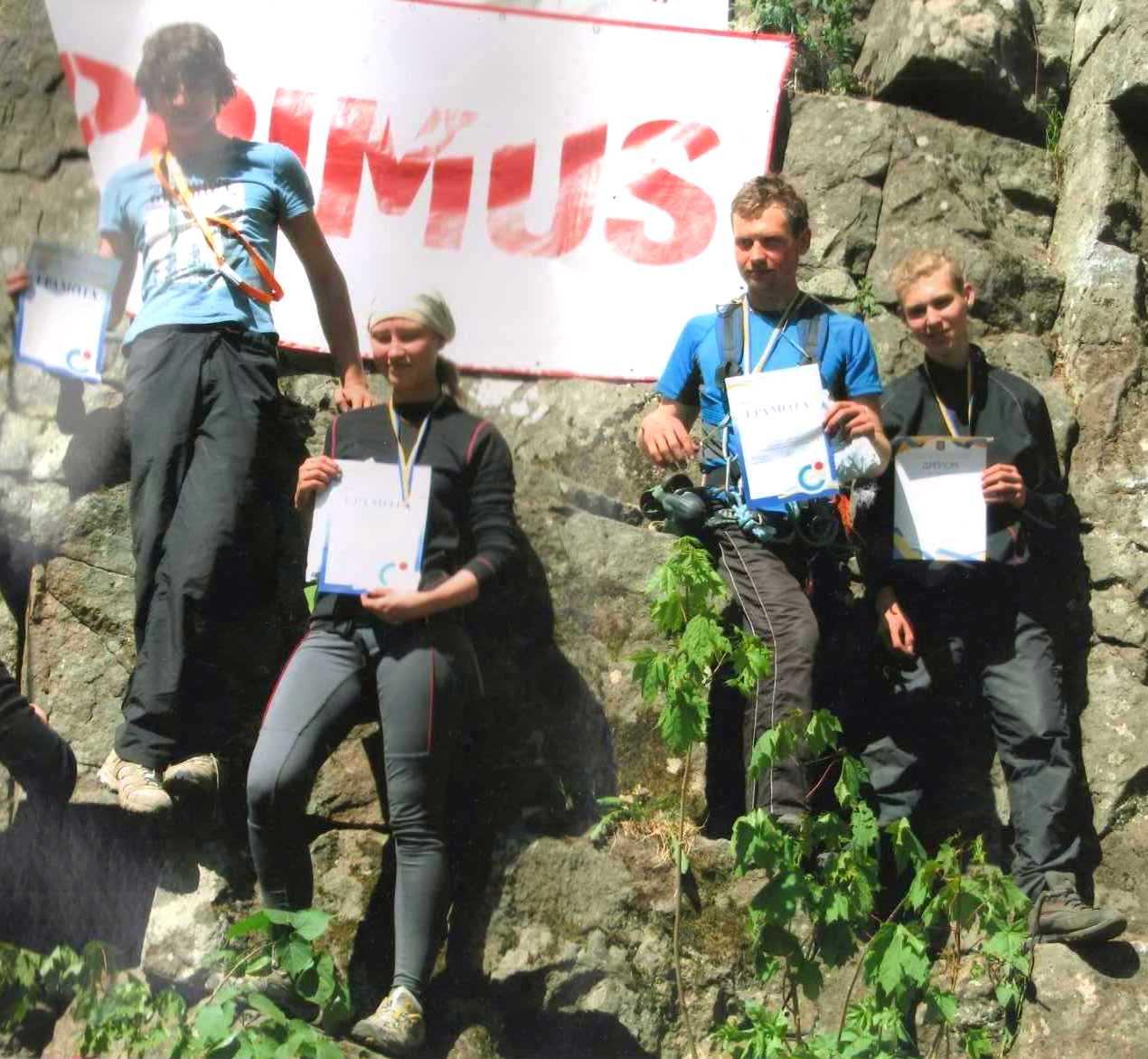 Скелелази ХНУРЕ стали бронзовими призерами на Чемпіонаті України