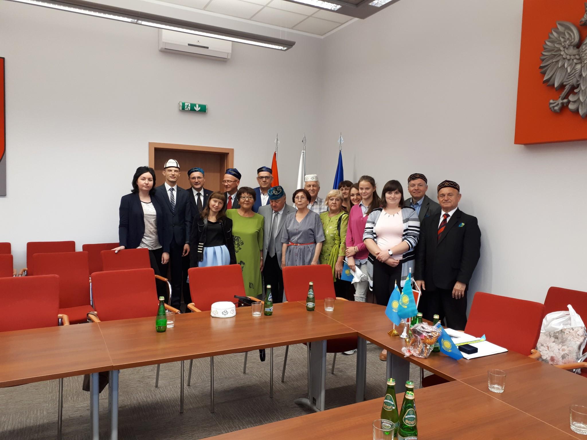 Делегація ХНУРЕ зустрілась із бургомістром міста Шубін (Польща)