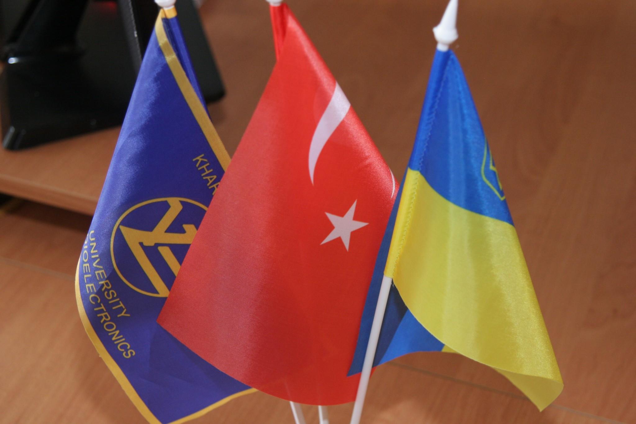 ХНУРЕ відвідала делегація освітян з Турецького університету