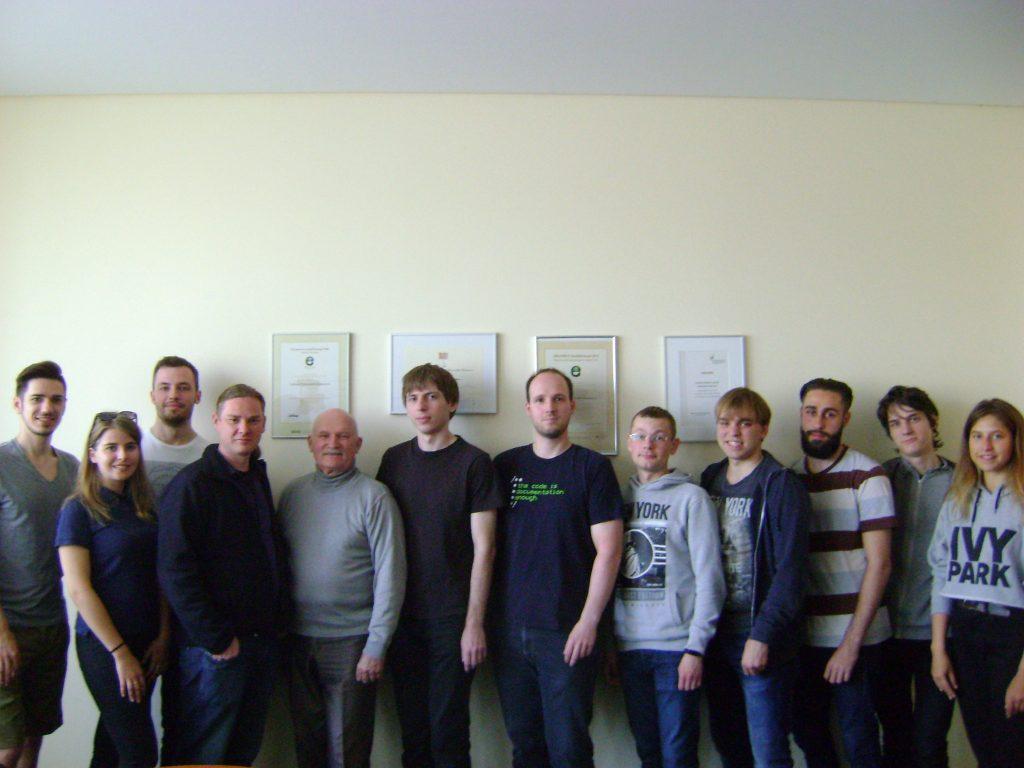 Студенти ХНУРЕ продовжують навчання у Німеччині в рамках міжнародної програми Erasmus+