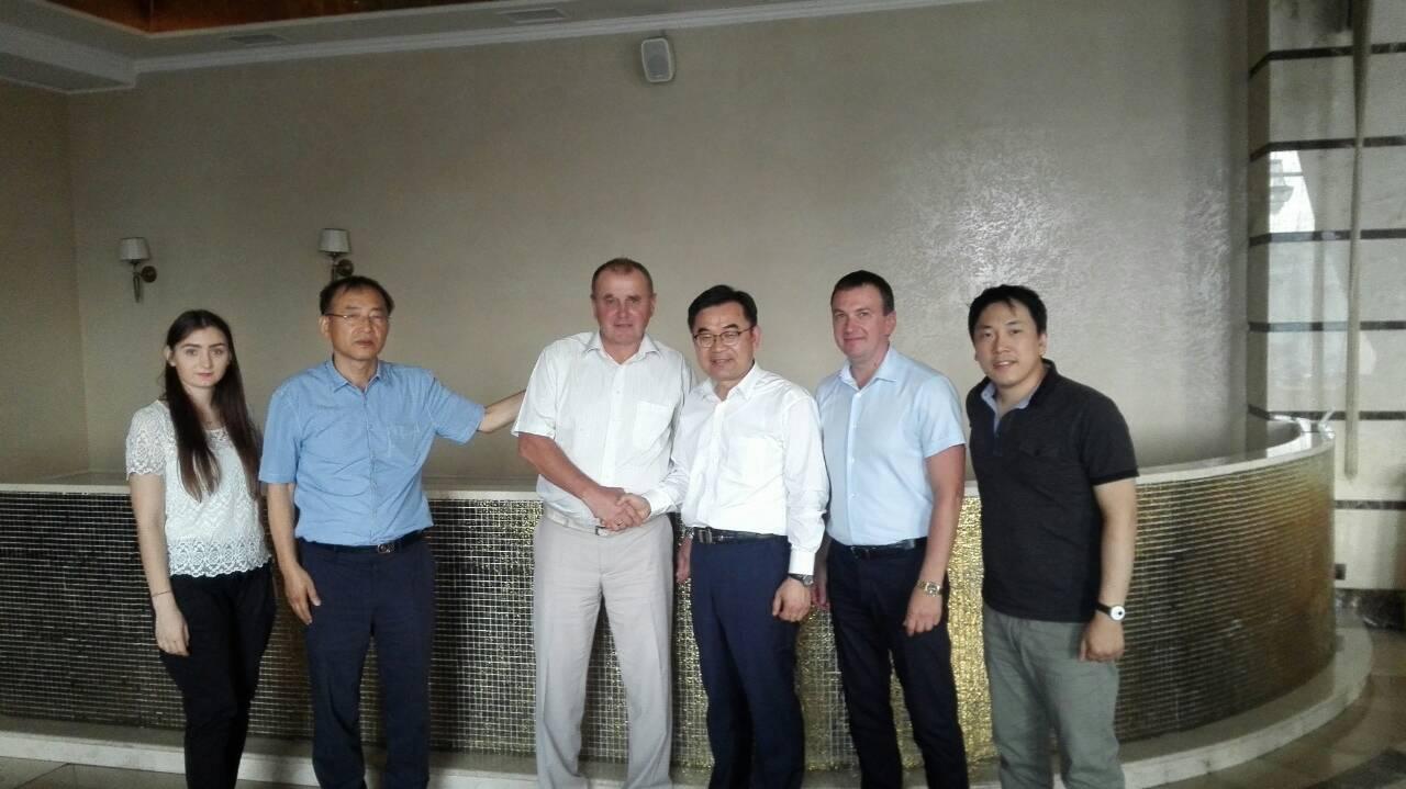 Ректор ХНУРЭ встретился с президентом компании LG Electronics Wroclaw