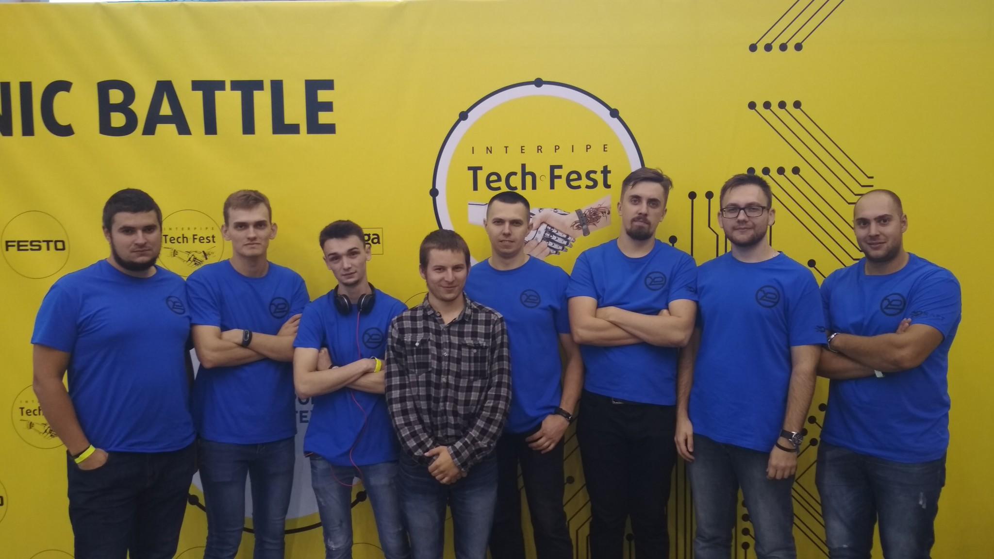 Винахідники ХНУРЕ взяли участь у в фестивалі науки, техніки та сучасних технологій «InterpipeTechFest»