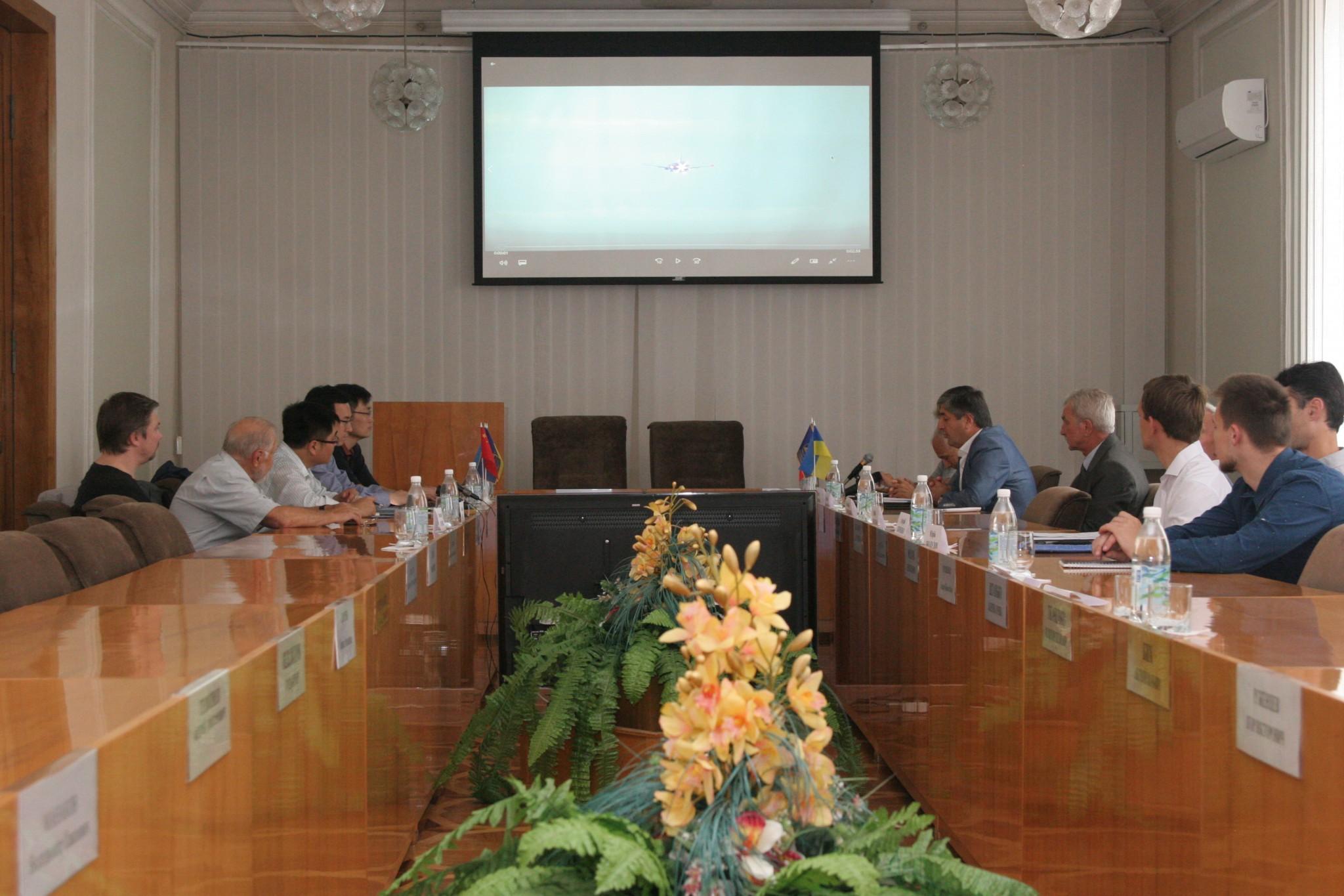 У рамках співпраціХНУРЕвкотре відвідала делегація зКНР