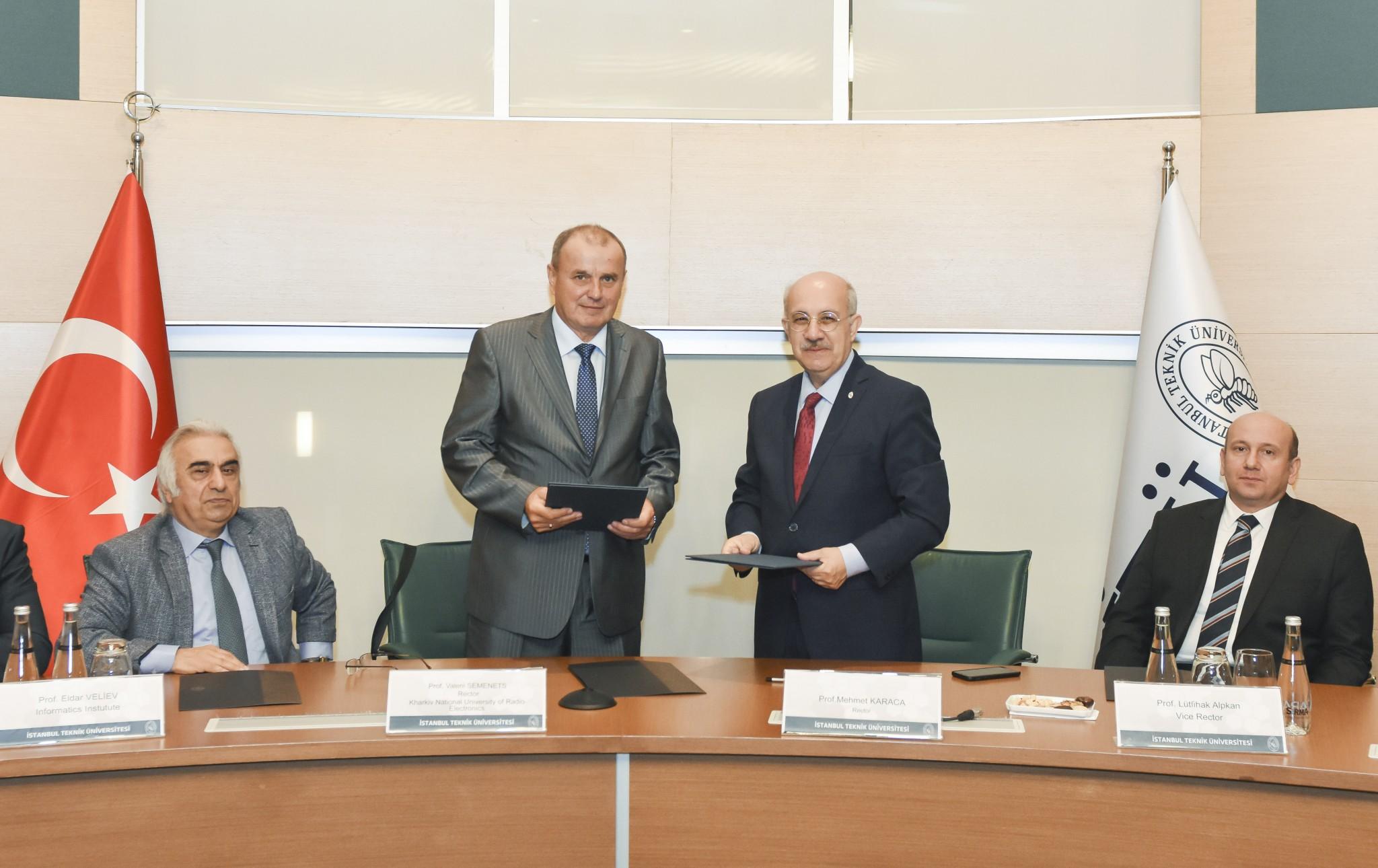ХНУРЕ та Стамбульський технічний університет будуть співпрацювати