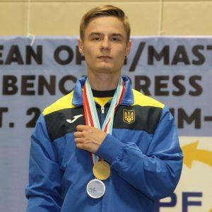 Студент ХНУРЕ переміг на Чемпіонаті Європи з жиму лежачи