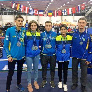 Студенты ХНУРЭ блестяще выступили на Чемпионате мира по кикбоксингу.