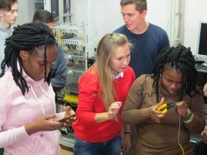 Студенти кафедри ІКІ взяли участь у майстер-класі
