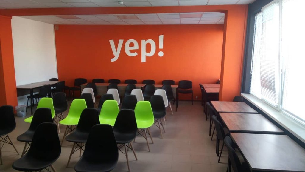 "We invite you to the opening of the business incubator ""YEP!»"