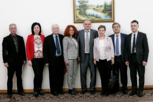 Valerii Semenets met a delegation of educators from the Republic of Poland