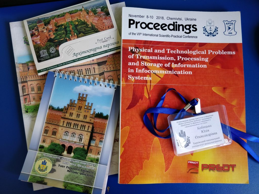NURE took part in the International Scientific and Practical Conference in Chernivtsi