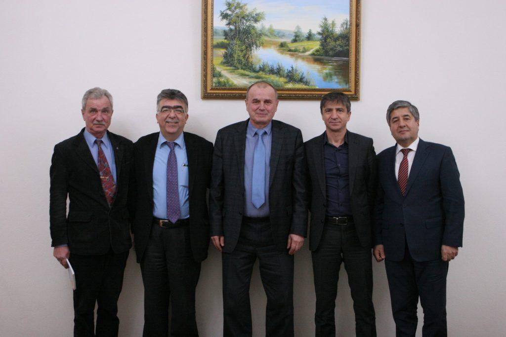 До ХНУРЕ прибула делегація Стамбульського технічного університету