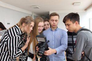 ХНУРЕ провів майстер-клас з основ телевізійних професій для старшокласників