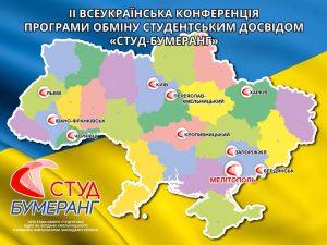 """Студенти ХНУРЕ взяли участь у Всеукраїнській конференції програми обміну студентським досвідом """"Студ-Бумеранг"""""""