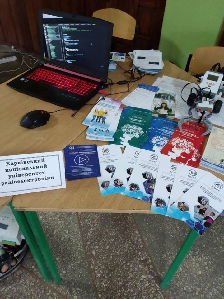 NURE participates in the vacancies fair