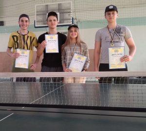 Визначились переможці Першості ХНУРЕ з настільного тенісу
