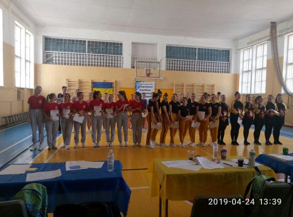 Студенты ХНУРЭ одерживают победы в соревнованиях по спортивной аэробике