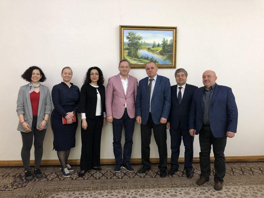 ХНУРЭ посетило руководство Института иностранных языков Стамбульского университета