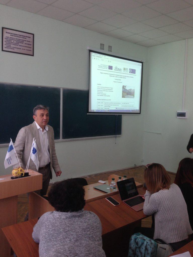 В ХНУРЭ прошел круглый стол о тренинге проекта «Эразмус +»