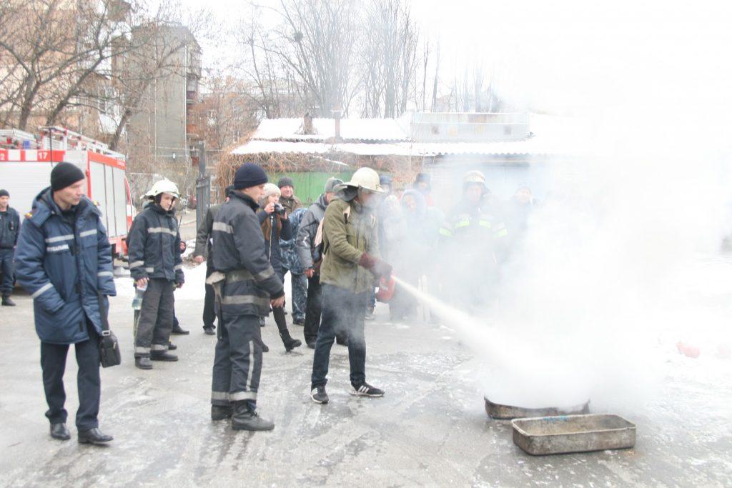 У ХНУРЕ пройшли навчання з протипожежної безпеки
