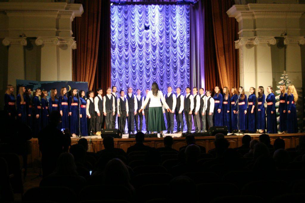 У ХНУРЕ пройшов новорічний святковий концерт