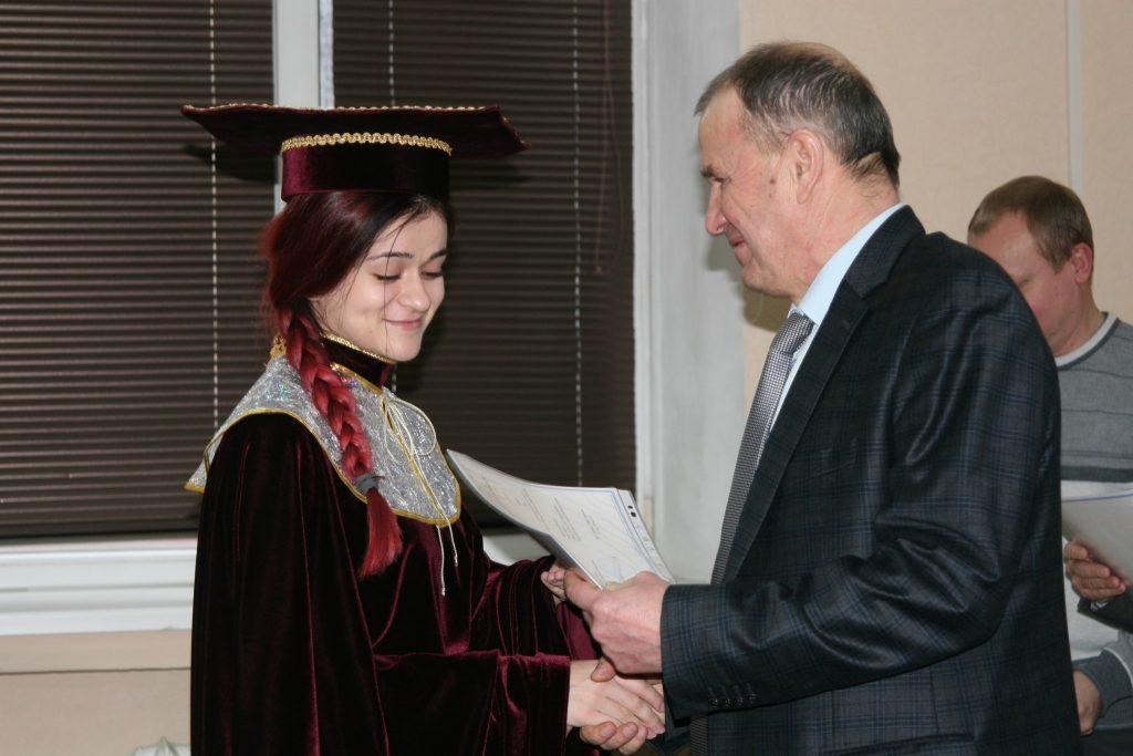Ректор ХНУРЕ вручив дипломи випускникам – магістрам
