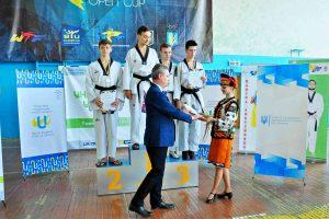 Студент ХНУРЕ здобув «золото» у Всеукраїнській універсіаді з тхеквондо